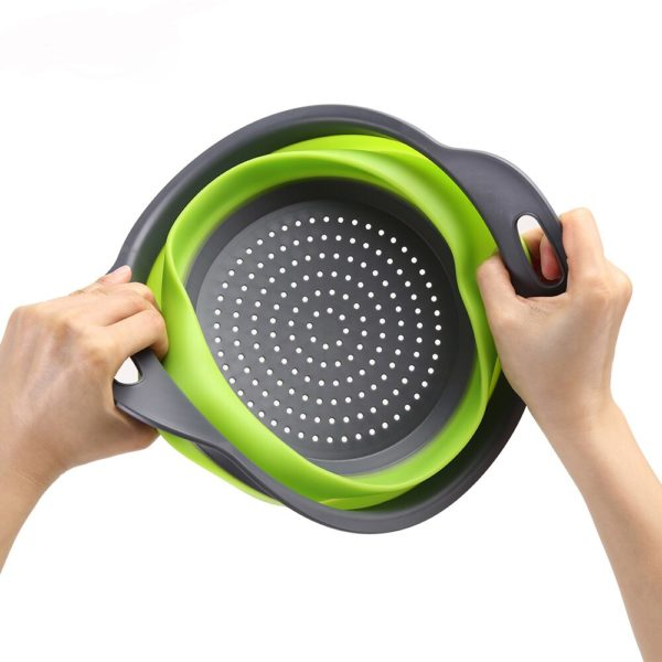 Silicone Vegetable & Fruit Strainer Basket  3