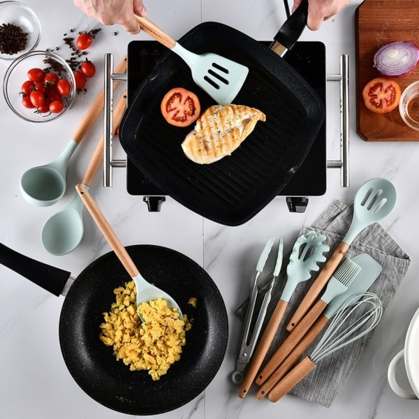 Silicone Cookware Utensils Set 3