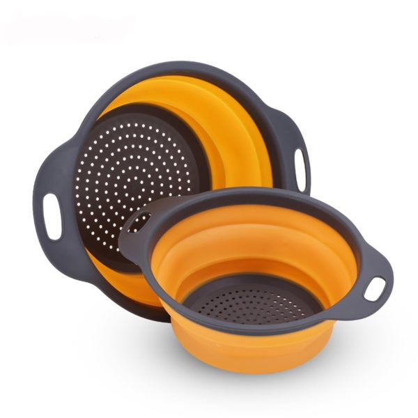Silicone Vegetable & Fruit Strainer Basket  1