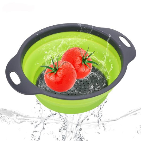 Silicone Vegetable & Fruit Strainer Basket  6