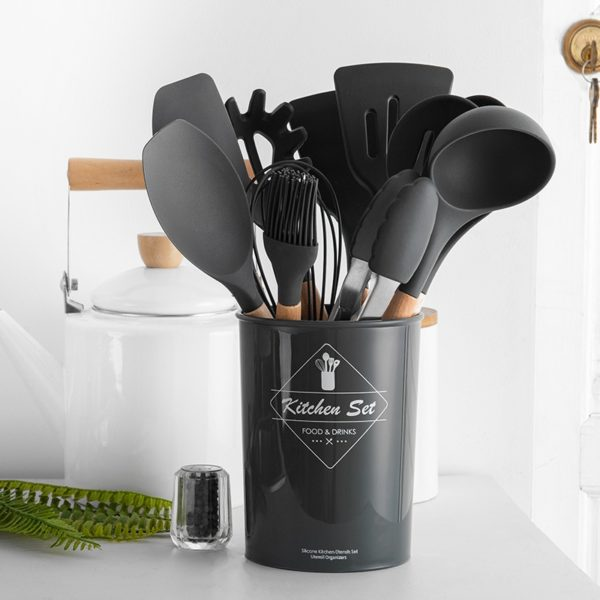 Silicone Cookware Utensils Set 2