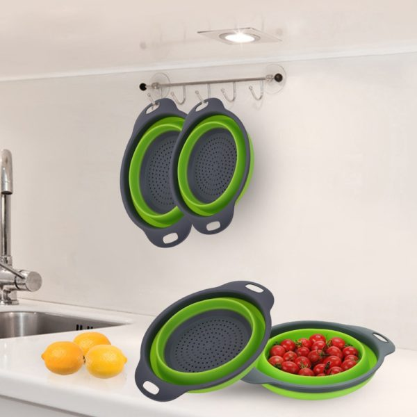 Silicone Vegetable & Fruit Strainer Basket  5