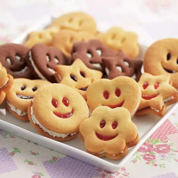 Stainless Kitchenta Steel Smiley Biscuit Mold