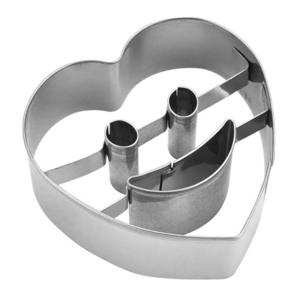 Stainless Kitchenta Steel Smiley Biscuit Mold6